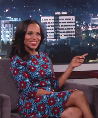 Kerry Washington on Jimmy Kimmel LIve