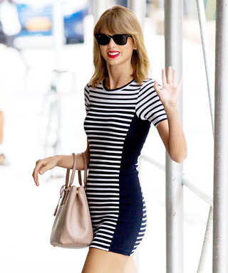 Taylor Swift in Topshop Dress
