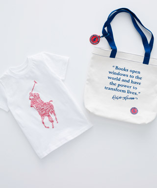 Ralph Lauren Children's Literacy Program Capsule Collection