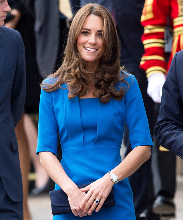 Kate Middleton in L.K. Bennett