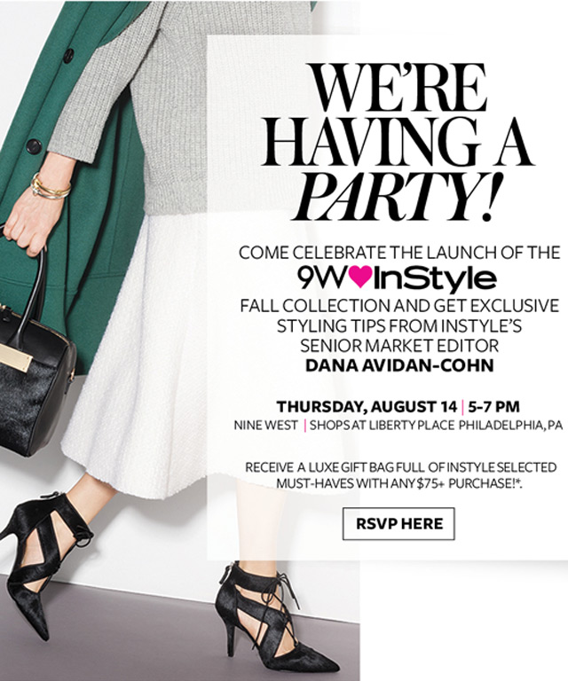 Nine West InStyle Collaboration