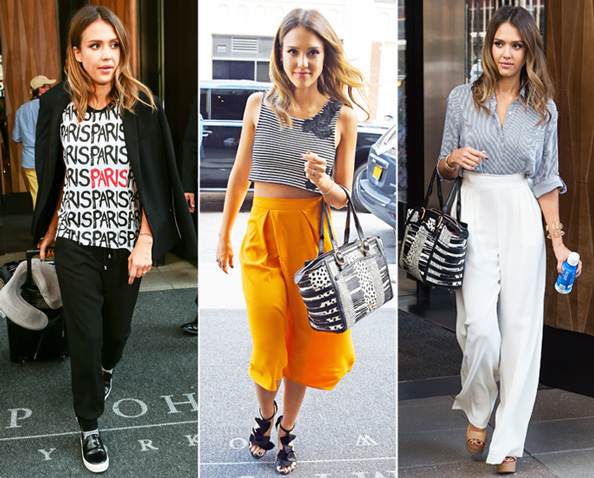 Jessica Alba Street Style Looks