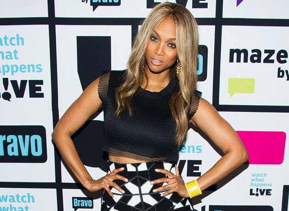 Tyra Banks on Watch What Happens Live
