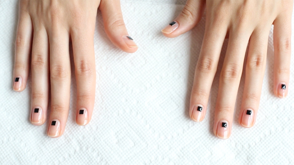 Nail This Look: Rock Stud Manicure by Mei Kawajiri