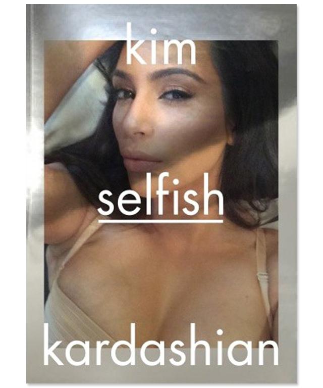 Kim Kardashian 'Selfish' Selfie Book