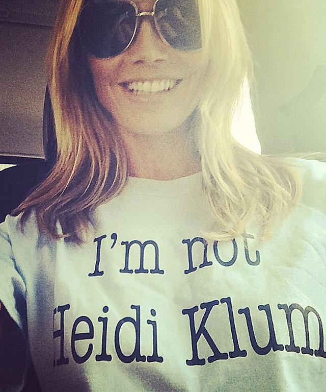 Heidi Klum tee