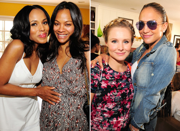 Kerry Washington, Zoe Saldana