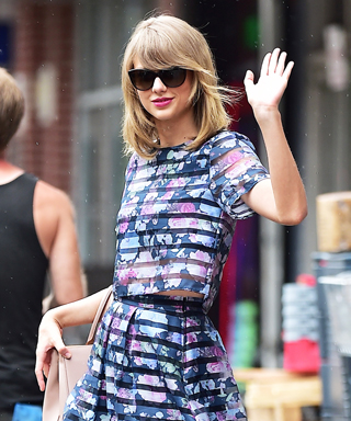 Taylor Swift in H&M Matching Set