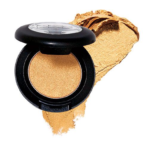 MAC gold eyeshadow