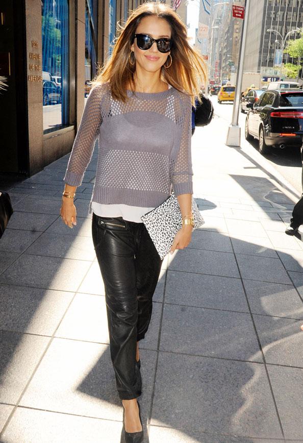 Jessica Alba Sweater