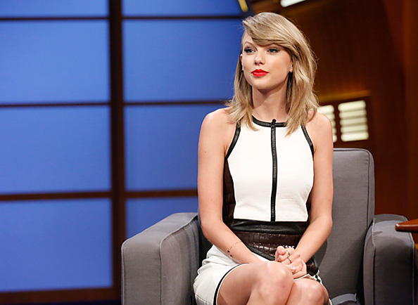 Taylor Swift on Late Night with Seth Meyers
