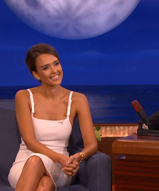 Jessica Alba on Conan