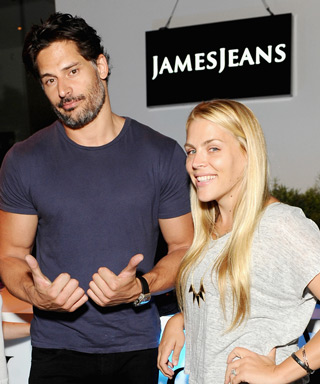 Busy Phillips and Joe Manganiello