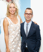 Maria Sharapova and Steven Kolb
