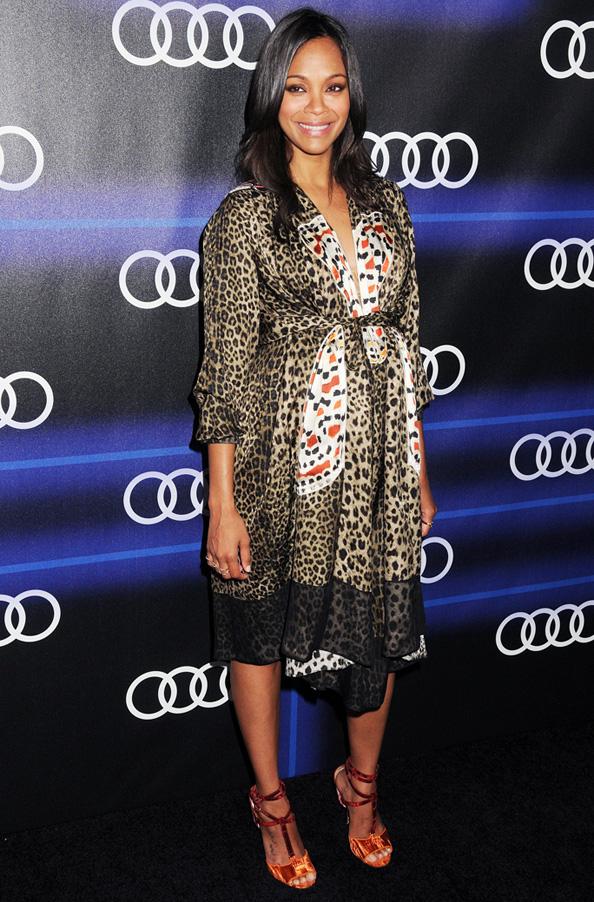 Zoe Saldana in Givenchy