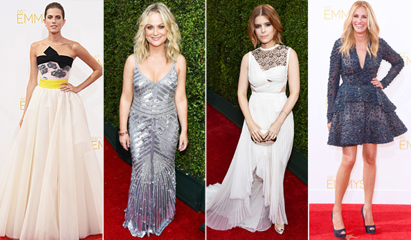 2014 Emmy Awards Red Carpet Trends