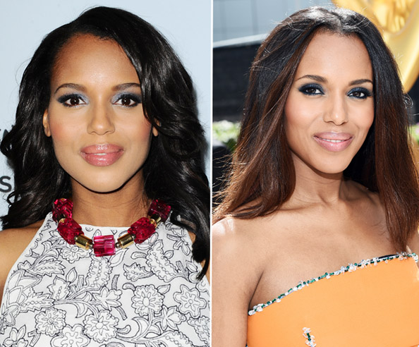 Kerry Washington Hair - Emmys 2014