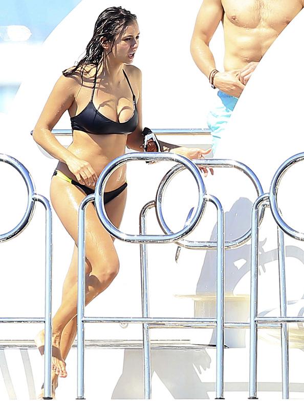 Nina Dobrev in Bikini