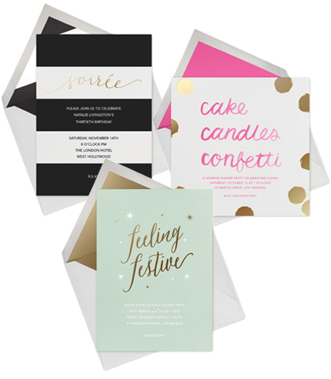 Paperless Post and Sugar Paper Collaboration