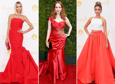 2014 Emmy Awards: Ladies in Red