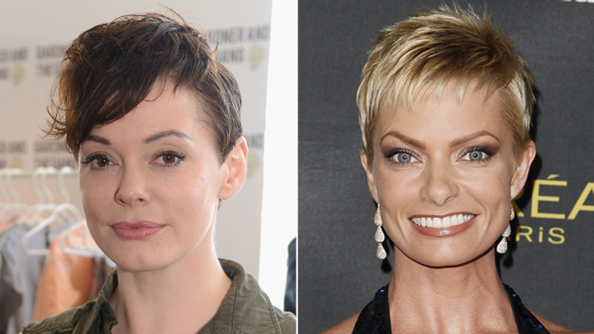Pixie Cuts - Rose McGowan - Jamie Pressly