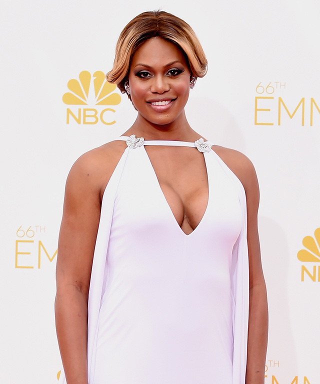 Laverne Cox Emmys 2014