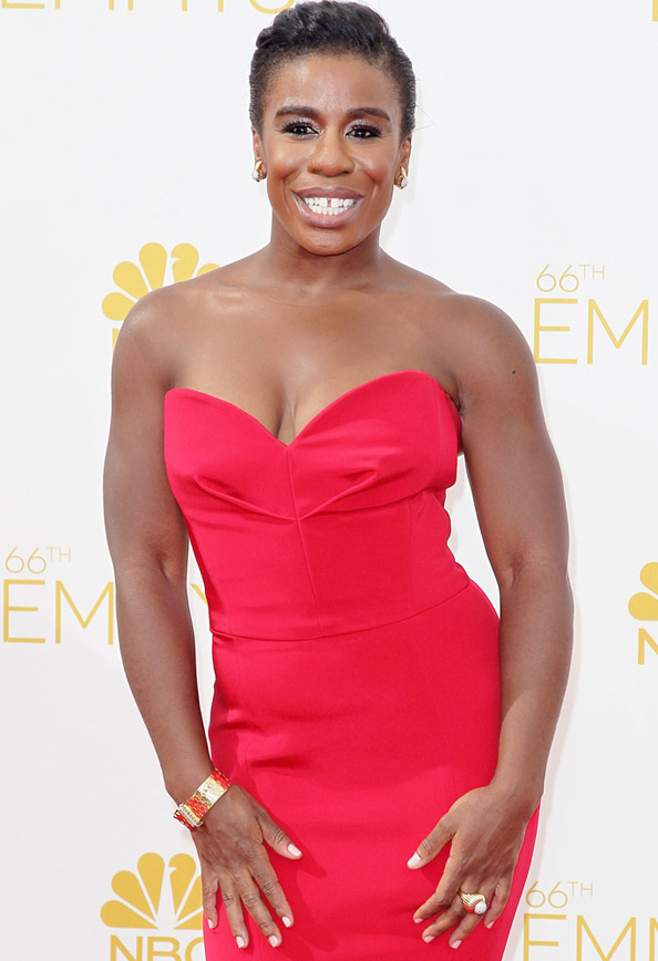 Uzo Aduba's Glam Squad Reveals How the OITNB Star Prepped for the ...