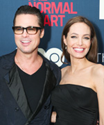 Brad Pitt and Angelina Jolie married