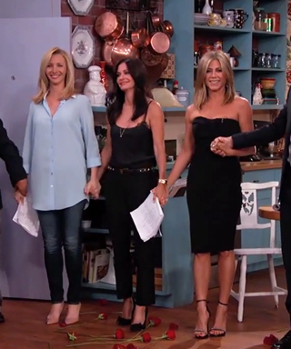 <em>Friends</em> Reunion Alert! Watch Jennifer Aniston, Courteney Cox, and Lisa Kudrow Get Back Together on <em>Kimmel</em>