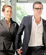 Angelina Jolie and Brad Pitt Surprise Wedding