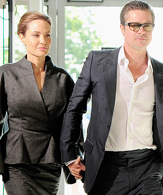Angelina Jolie and Brad Pitt Surprise Wedding