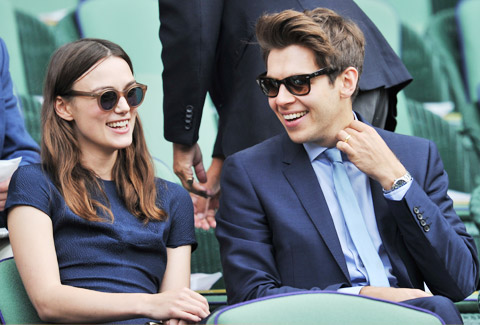 Kiera Knightley and James Righton