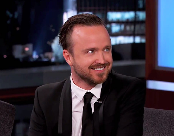 Aaron Paul on Jimmy Kimmel Live