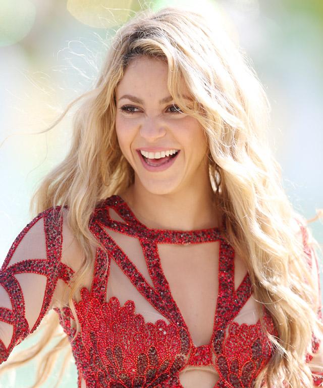 Shakira expecting second child.