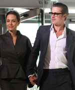 Brad Pitt and Angelina Jolie get married