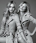 My Burberry - Kate Moss - Cara Delevingne
