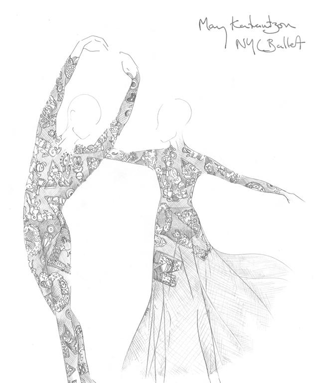 Mary Katrantzou x NYC Ballet