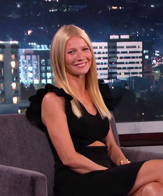 Gwyneth Paltrow visits Jimmy Kimmel Live.
