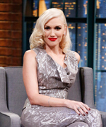 Gwen Stefani on Late Night with Seth Meyers