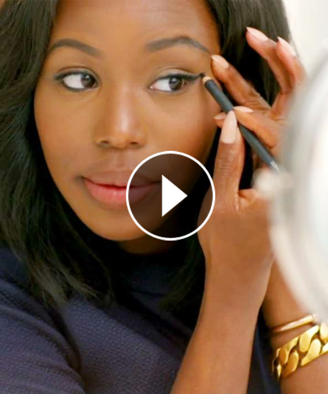 Real-Time Beauty: Winged Eyeliner