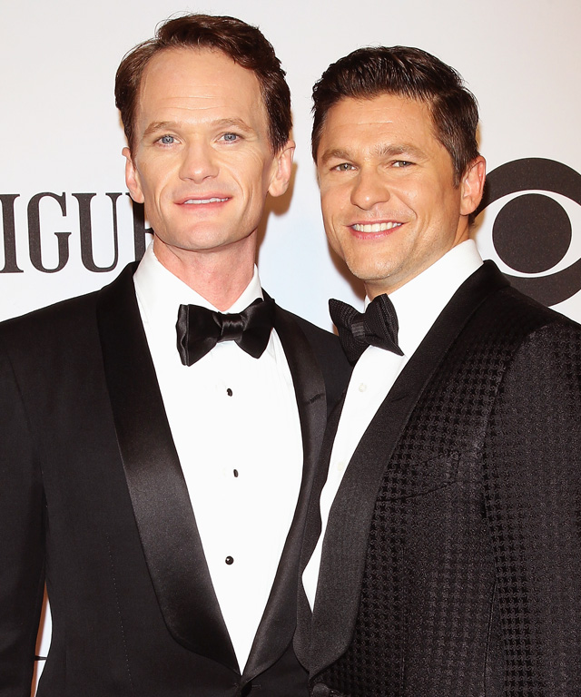Neil Patrick Harris and David Burtka are Marrid