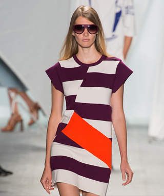NYFW Trend: Bright Stripes