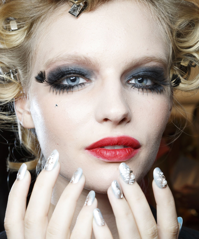 Betsey Johnson Nails - Fashion Week