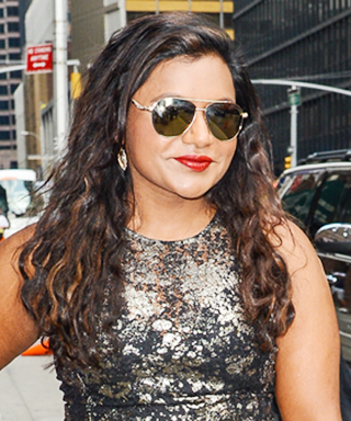Mindy Kaling appears on David Letterman.