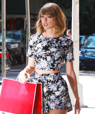 Taylor Swift in Asos Matching Set