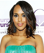 Kerry Washington at Purple Purse Launch