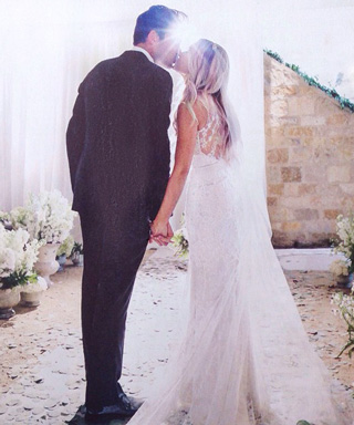 Finally! See Lauren Conrad's Romantic Wedding Dress