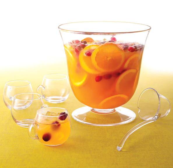 ... Your Holiday Party With Our Favorite (Spiked) Cranberry Punch Recipe