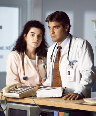 George Clooney Julianna Margulies E.R. Anniversary