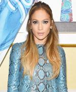 Jennifer Lopez in Blue Python